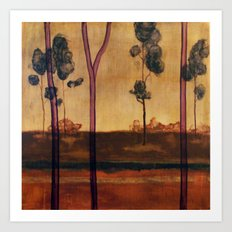 tree study four Art Print