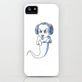Princess Leia ghost iPhone Case