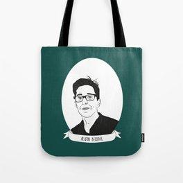 Alison Bechdel Illustrated Portrait Tote Bag