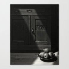 Four Pears Canvas Print