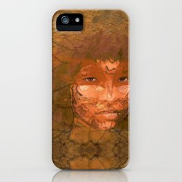 The Serene Warrior iPhone Case