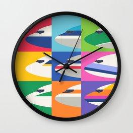 Retro Airline Nose Livery - International Wall Clock