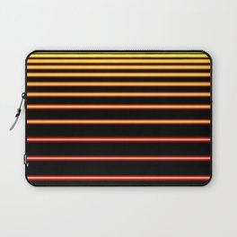Red to Yellow Neon Laptop Sleeve