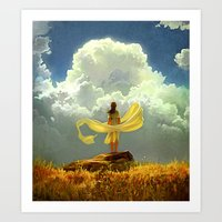 wind Art Prints featuring Wind by Artem Rhads Cheboha