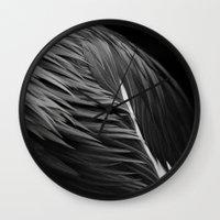 crane Wall Clocks featuring Crane by Bart De Keyzer