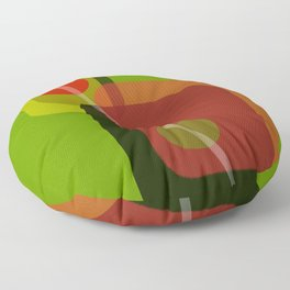Don't Forget the Olives Floor Pillow