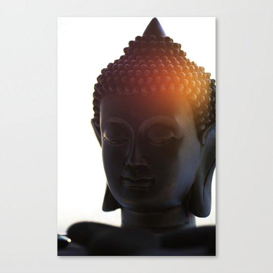 Buddha Lights Canvas Print