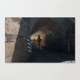 Tunnel to the Gods Canvas Print