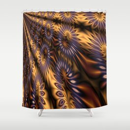 Abstract 372 Shower Curtain