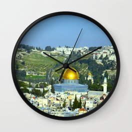 Isreal Wall Clock