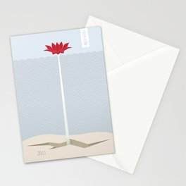 Japan Earthquake 2011 no.1 Stationery Cards
