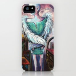 UNEMPLOYED ANGEL iPhone Case