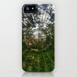 Spell of the forest fairies iPhone Case