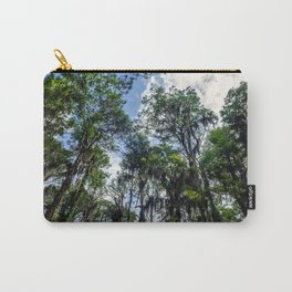 Swamp Trees with Moss Carry-All Pouch
