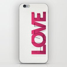 It's a Love-Hate thing iPhone Skin