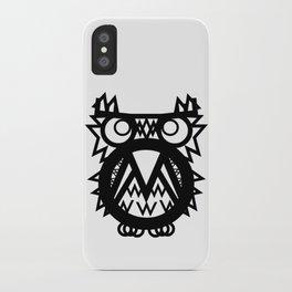 Mr. Tw Cen MT Owl iPhone Case