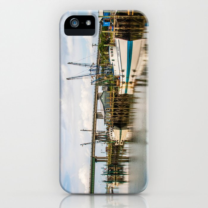 At the Dock iPhone Case