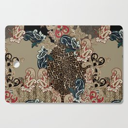 Paisley and Leopar Power Cutting Board