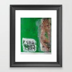 RECEIVER Framed Art Print