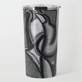 Woman Screaming Travel Mug