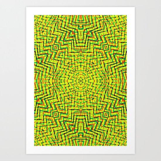Mystic Labyrinth  Art Print
