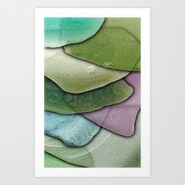 Beach Glass 02 Art Print