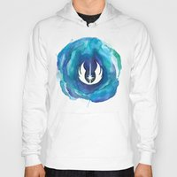 jedi Hoodies featuring Star Wars Jedi Watercolor by foreverwars