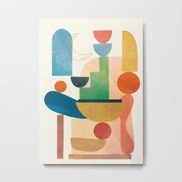 Modern Abstract Art 80 Metal Print