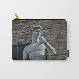 The Statue of David Carry-All Pouch