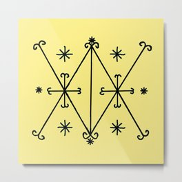 Voodoo Symbol Ayzian Metal Print
