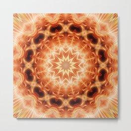 Mandala Glory Metal Print