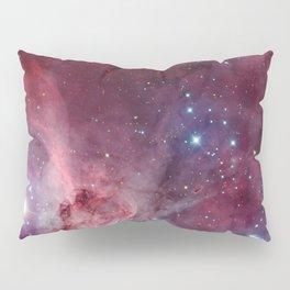 Carina Nebula of the Milky Way Galaxy Pillow Sham