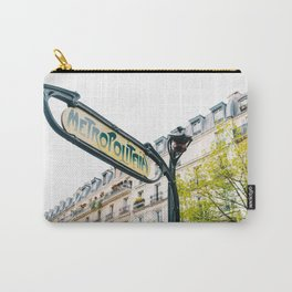Paris Metro III Carry-All Pouch