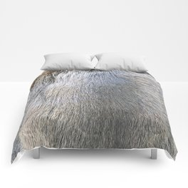 Rabbit Fur Comforters