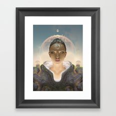 Telepathist Framed Art Print