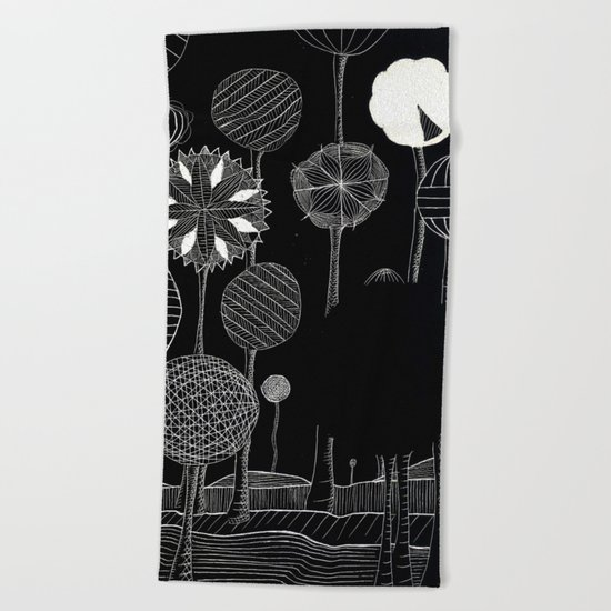 Black Forest Beach Towel