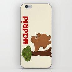 MADRID: Bear and Madrono (v.2) iPhone & iPod Skin
