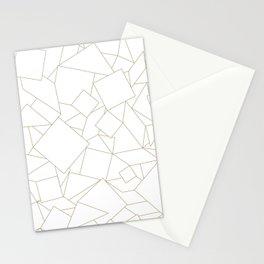 Geometry Patterns Stationery Cards