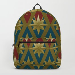 Gold Stars of a Hero Backpack