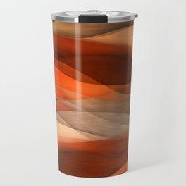 """Sea of sand and caramel waves"" Travel Mug"