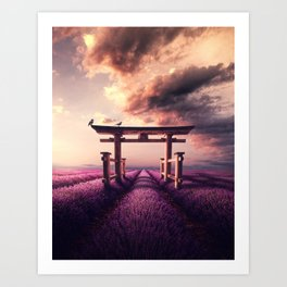 Valley of Peace Art Print