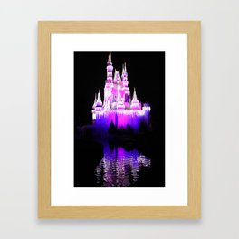 The Castle Waters Framed Art Print