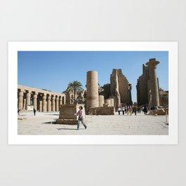 Temple of Luxor, no. 28 Art Print