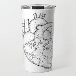 Wanderer's Heart Earth anatomy Travel Mug