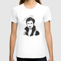 hook T-shirts featuring Captain Hook by *deim lacquer