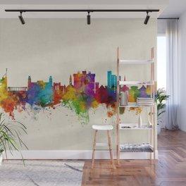 Fayetteville Arkansas Skyline Wall Mural