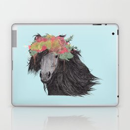Shetland Pony (Pastel Blue Edition) Laptop & iPad Skin