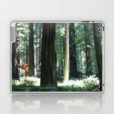Big Foot Says Hello Laptop & iPad Skin