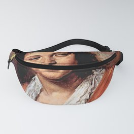 """Frans Hals """"Young woman (The Gypsy Girl)"""" Fanny Pack"""