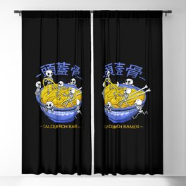 Kawaii Anime Skull Shirt Japanese Skeleton Blackout Curtain